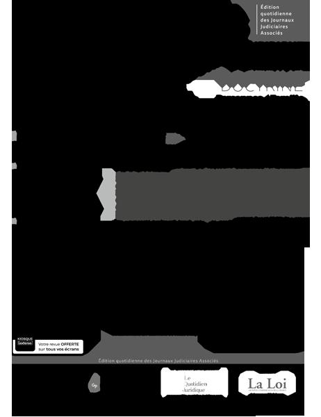 8867be4c1d0 Un article de Géraldine Delavaquerie - Docteur en droit privé et sciences  criminelles