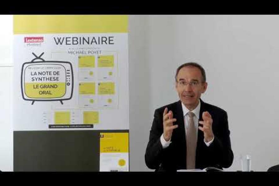 Réussir le CRFPA 2020 : Fondamentaux et pratique de la Note de Synthèse