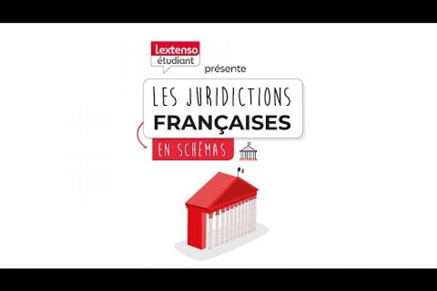 [Cas pratique animé - Institutions] Les juridictions Françaises en schémas