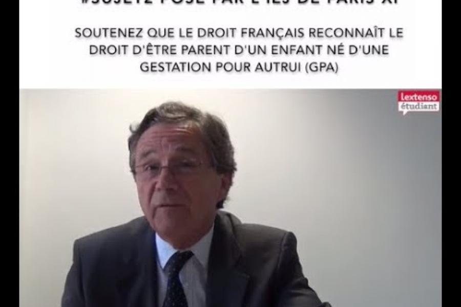 Tuto 2 Grand Oral du CRFPA : annales corrigés par le Pr Henri Oberdorff sur un sujet de soutenance